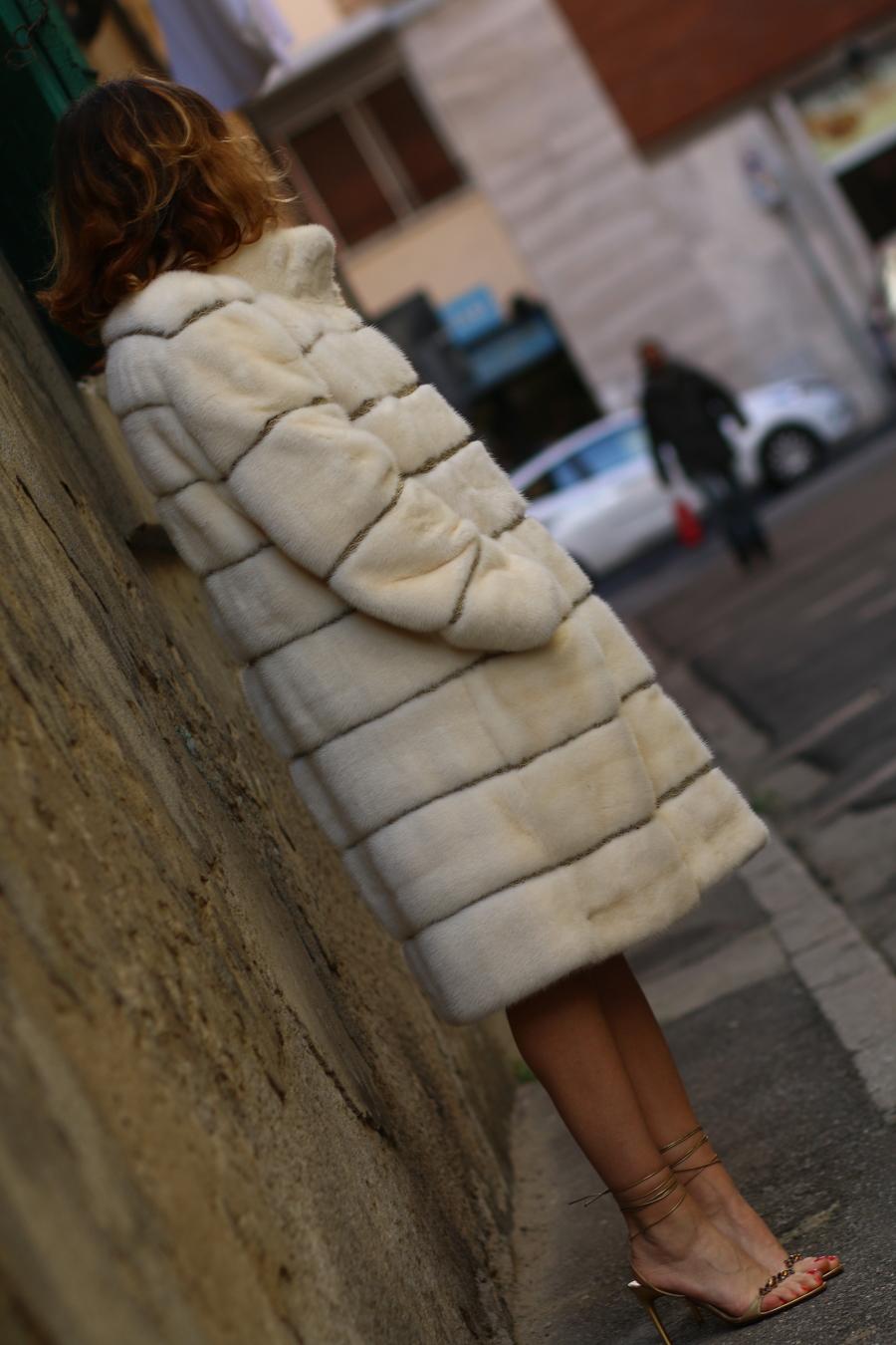 still alive diari di una blogger The Italian Glam pelliccia visone artigianale made in italy