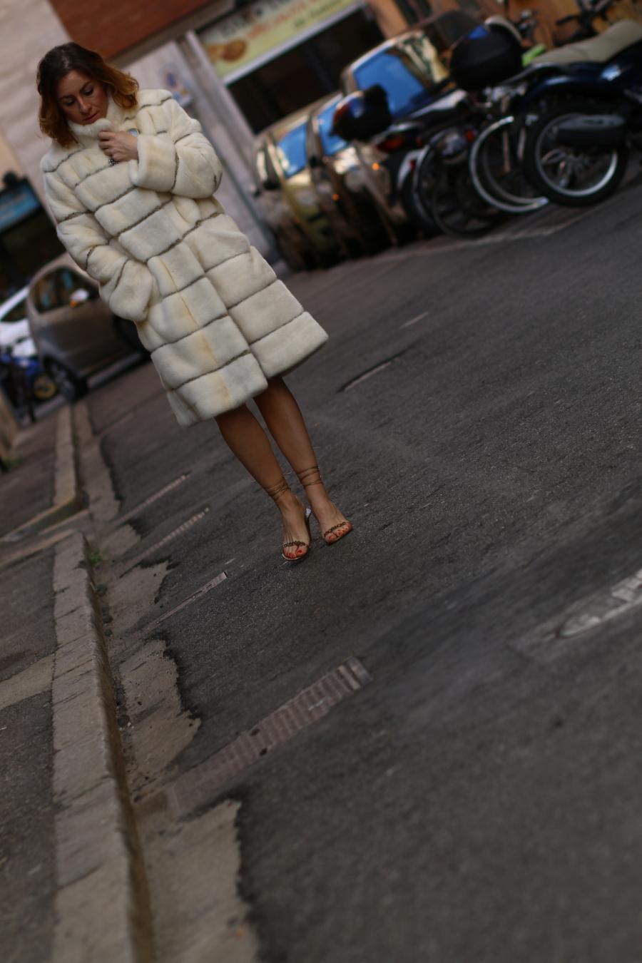 still alive diari du una blogger The Italian Glam pelliccia visone artigianale Elite 2000