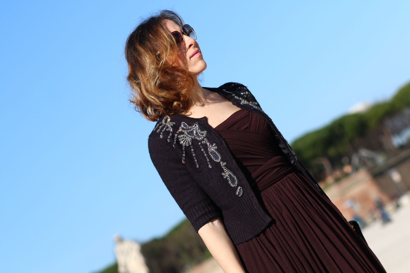 blogger diaries calogero did love say good-bye by The Italian Glam vestito Dolce Gabbana