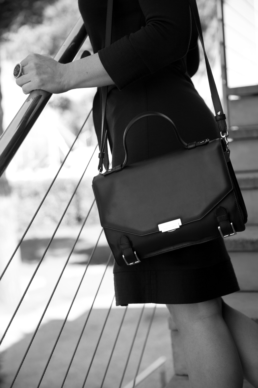 blogger diaries dan't call me baby black and white photography by The Italian Glam