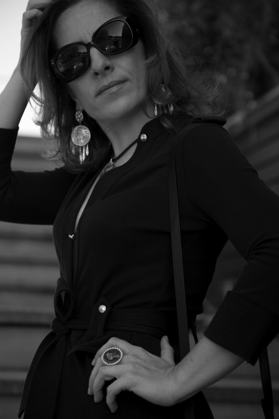 blogger diaries don't call me baby black and white photography by The Italian Glam