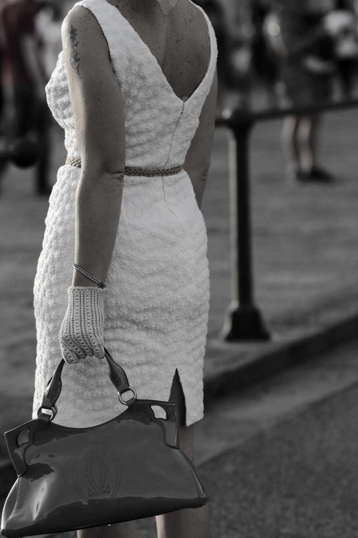 italian drama by The Italian Glam cotton gloves