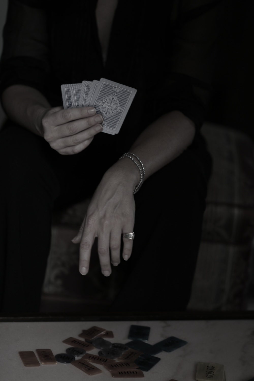 the story of my life fotografia noir by The Italian Glam poker
