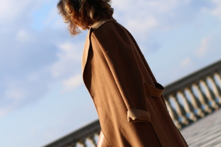 diari blogger The Italian Glam cappotto cammello zara