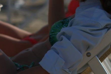 blogger diaries haunted by The Italian Glam Salvatore Ferragamo shirt versilia beach