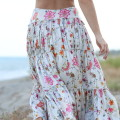 blogger diaries se io se lei by The Italian Glam silk maxi-skirt
