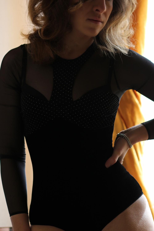 racconti fashion stellina body velluto tezenis