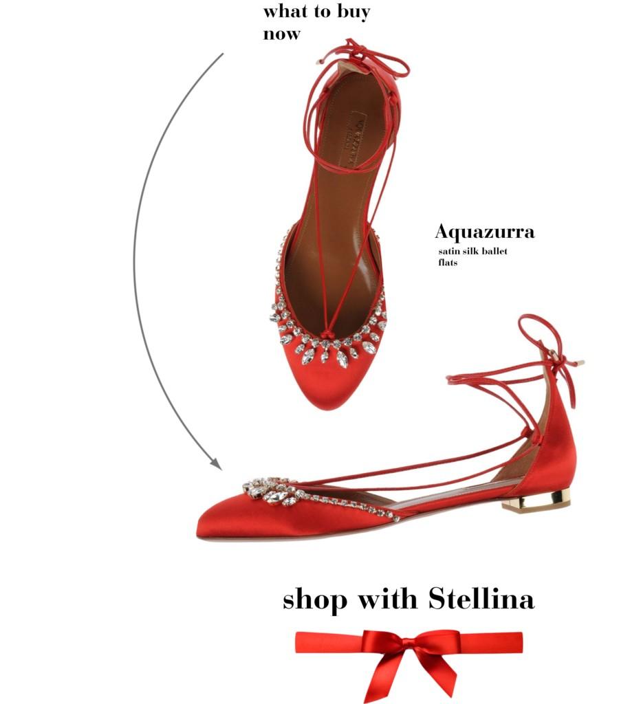 shop with stellina aquazurra flats