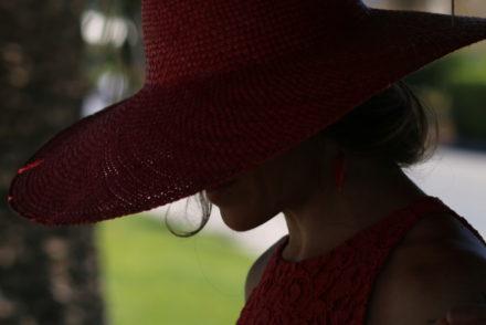 pizzo italian fashion stories by stellina cappello rosso top zara