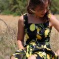 limonaia italian fashion stories by stellina vestito stampato limoni