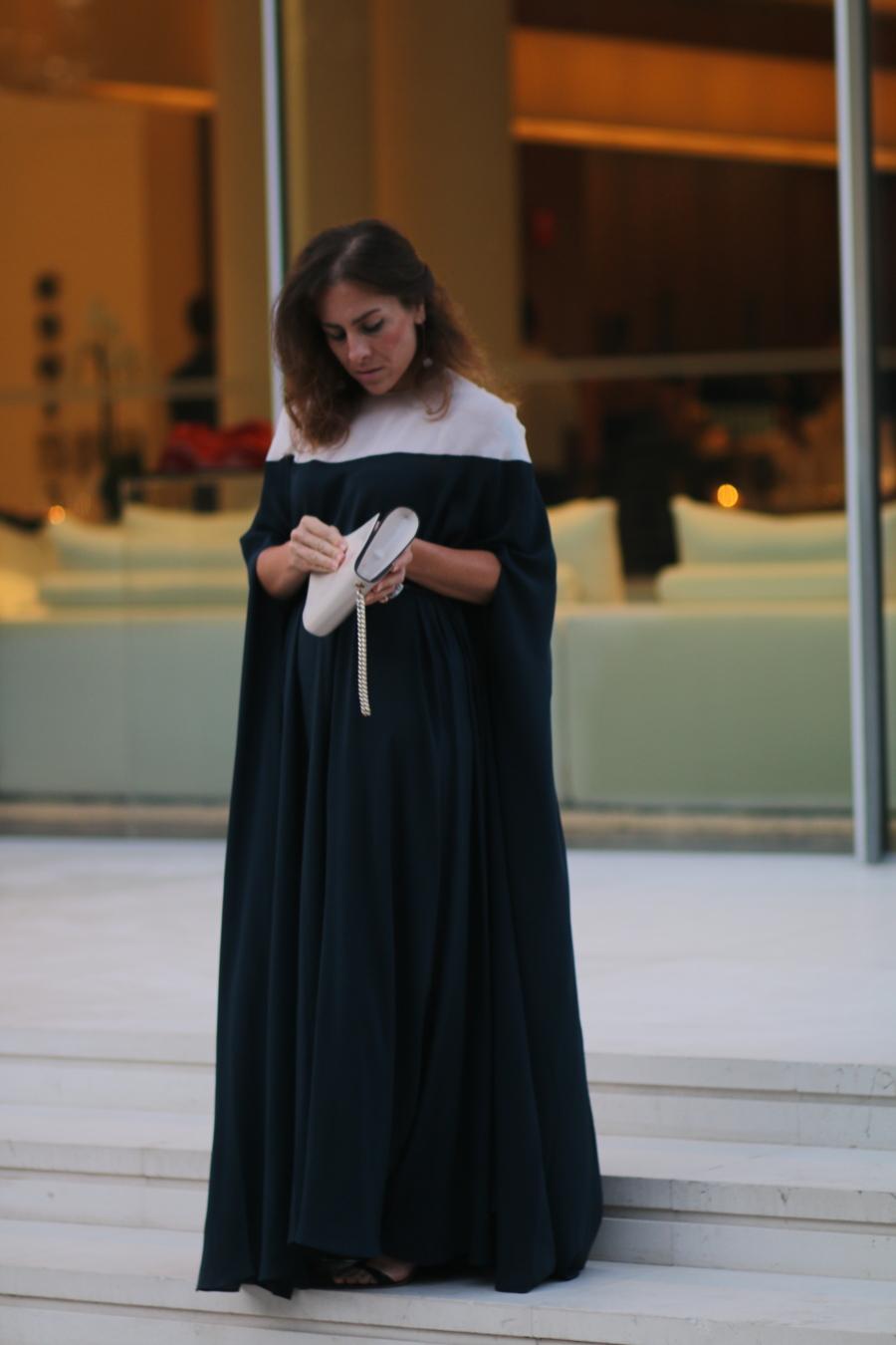 stellina italian fashion stories haze Unsigned cape dress