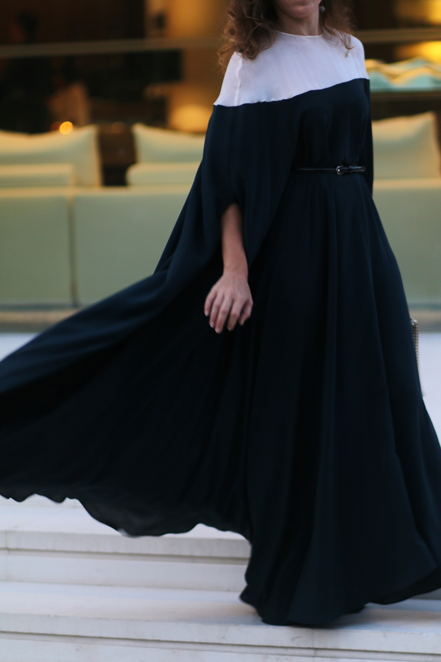 stellina italian fashion stories haze unsigned cape dress giuseppe zanotti sandals