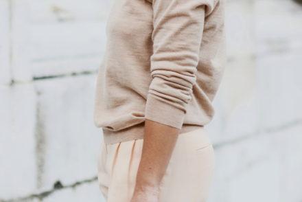 stellina di giorno diari fashion pantaloni mauro grifoni maglia girocollo unsigned