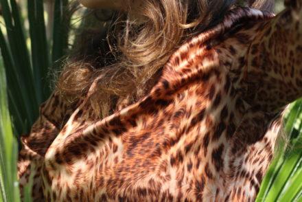 leopardo diari moda stellina vestito seta