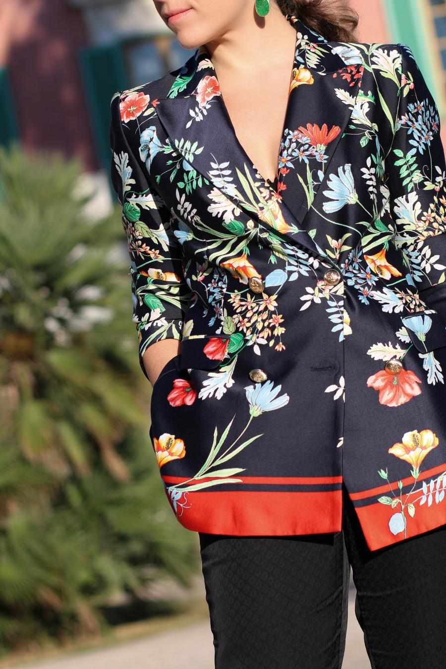 tropico del capricorno storie fashion stellina blazer stellina