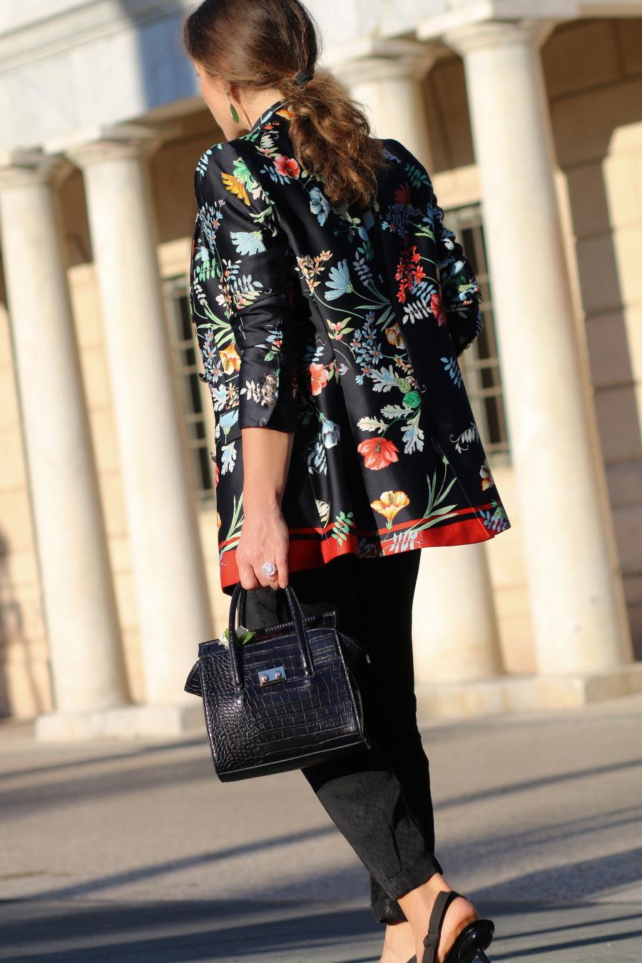 tropico del capriocrno storie fashion stellina blazer zara