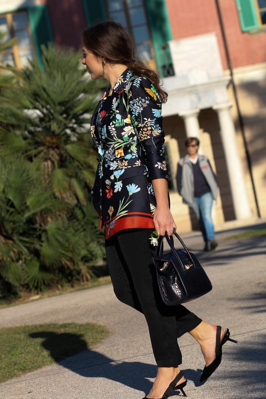 tropico del capricorno storie fashion stellina blazer zara